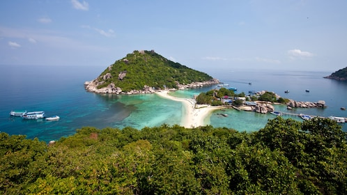 Ocean and island view in Koh Samui