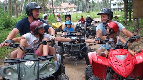 ATV riders in Koh Samui