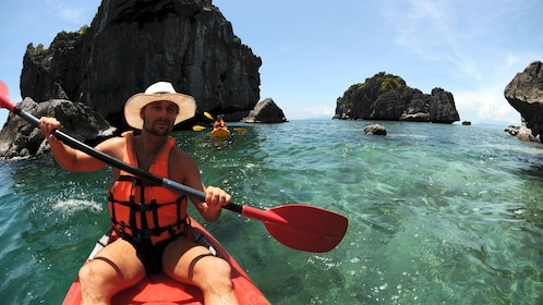 Kayakers in Koh Samui