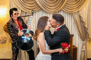 Famous Elvis Themed Wedding or Renewal at Graceland Chapel