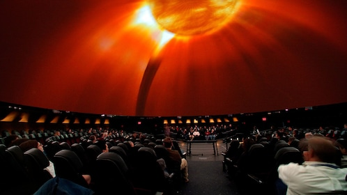 Planetarium at the American Museum of Natural History in New York