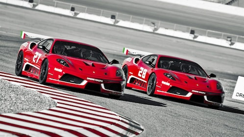 Drive Ferrari race cars on the Las Vegas Motor Speedway