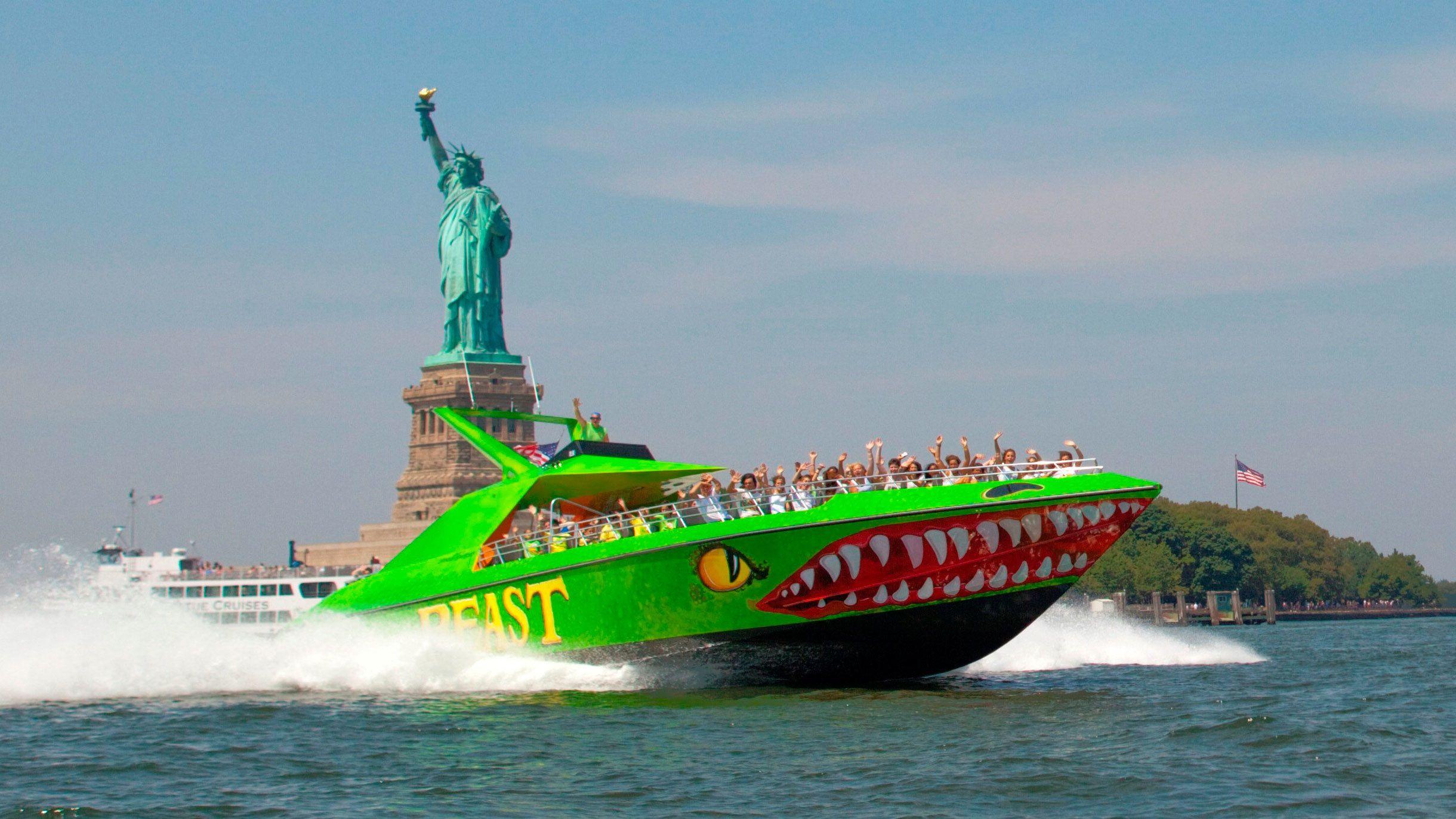 Beast Speedboat Thrill Ride