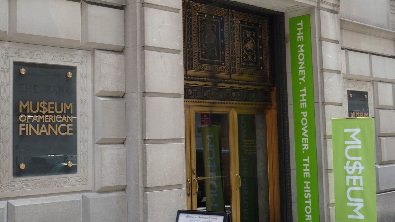 The Museum of American Finance in New York