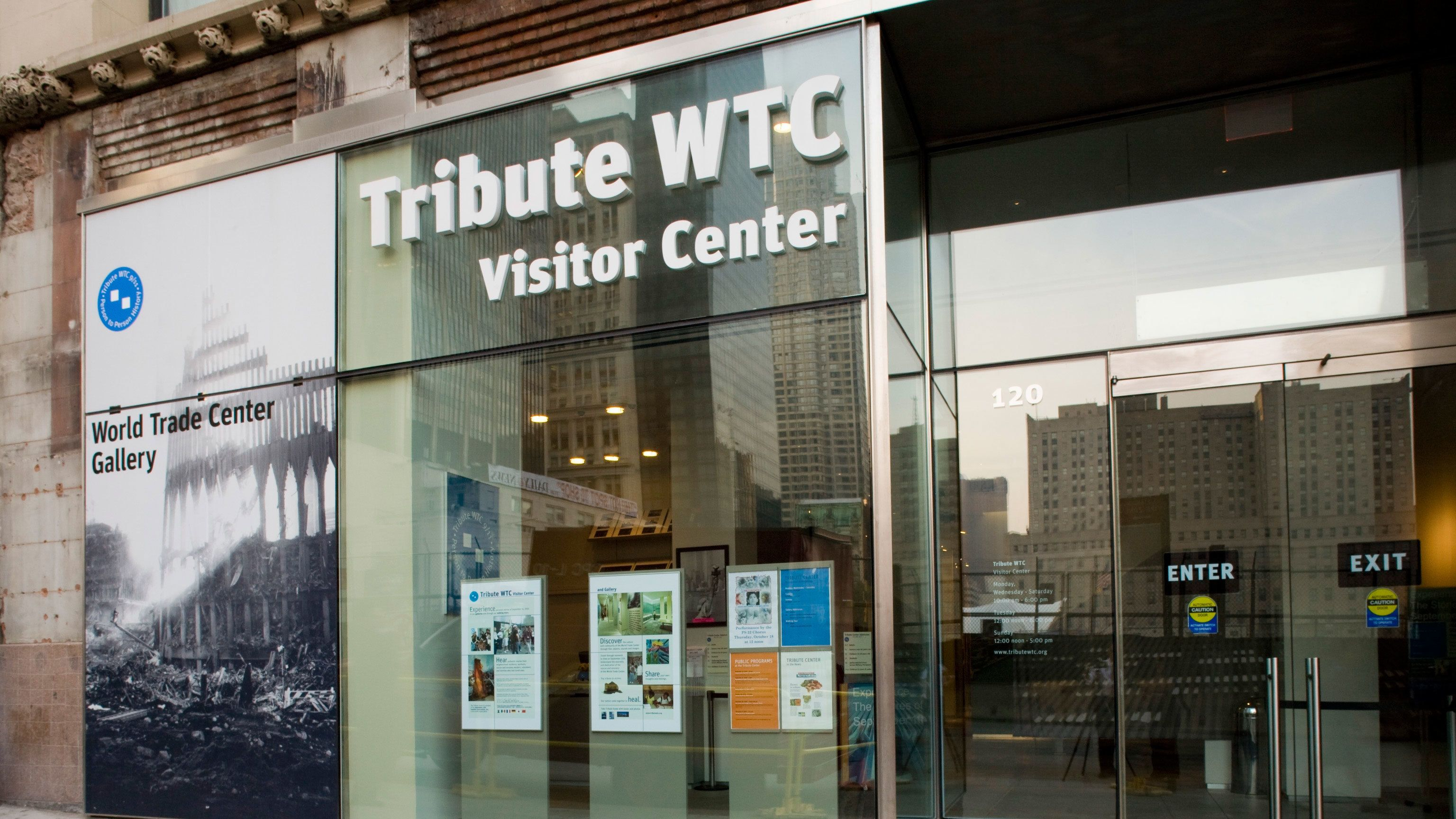 The Tribute World Trade Center Visitor Center in New York