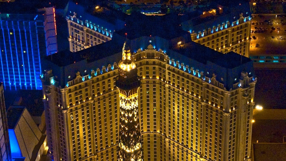 Maverick helicopters offers a unique experience to view the Vegas lights from high above