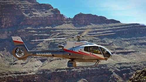 Fly over the Grand Canyon in a Maverick Helicopter