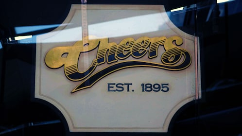 Cheers bar sign in Boston