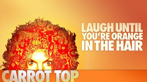 Carrot Top promo photo for his comedy show in Las Vegas