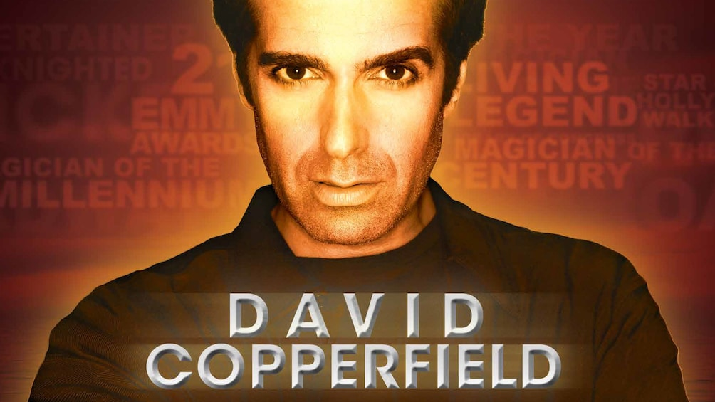 Show item 1 of 4. David Copperfield Magical Show in Las Vegas