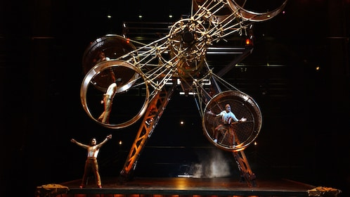 Live acrobatic performance in KA at the MGM Grand, Las Vegas