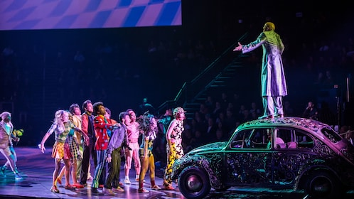 Scene during The Beatles® LOVE by Cirque du Soleil® in Las Vegas
