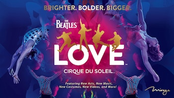 The Beatles® LOVETM door Cirque du Soleil®