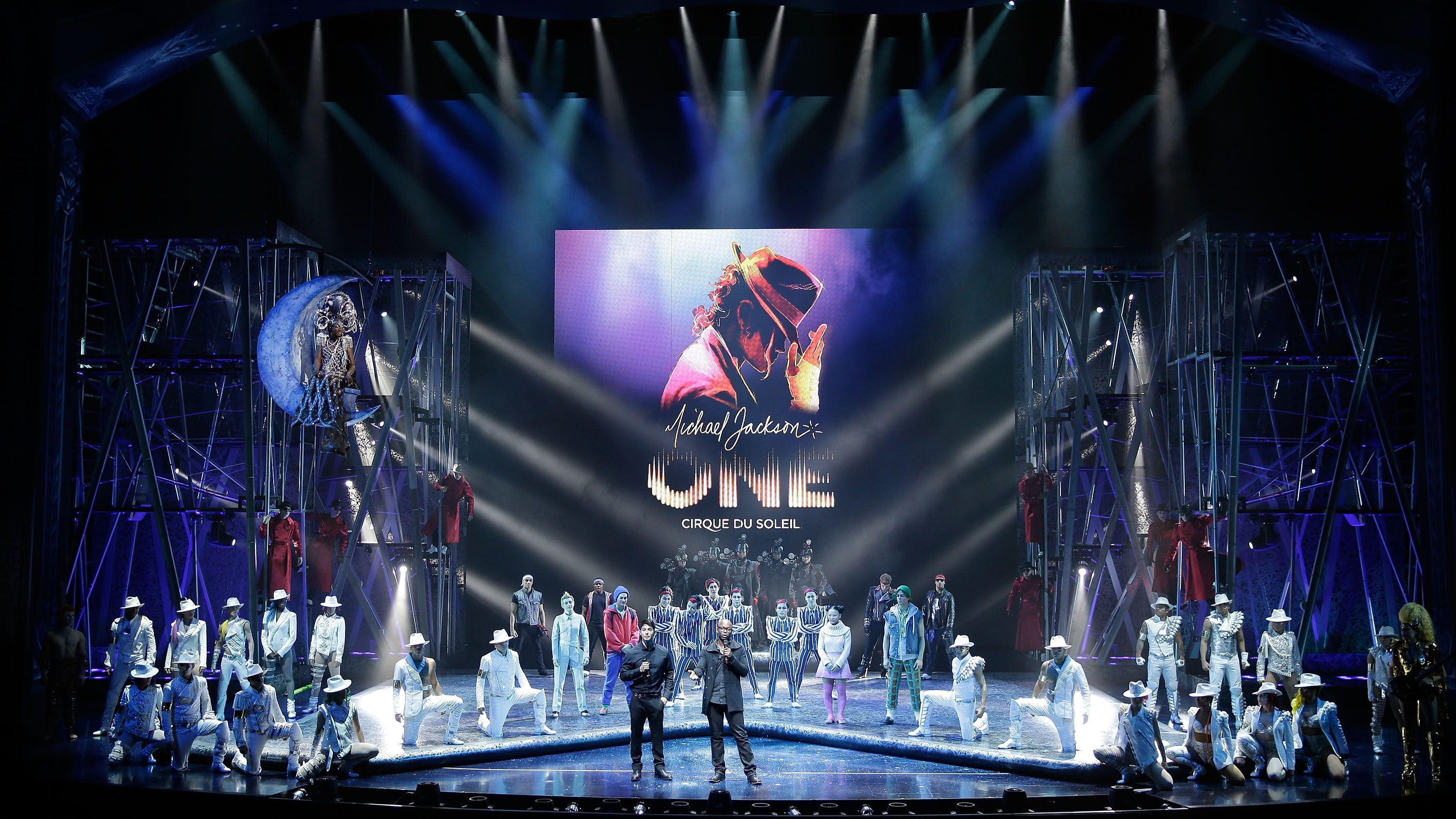 Cirque du Soleil® performs tributes to Michael Jackson in One, at Mandalay Bay