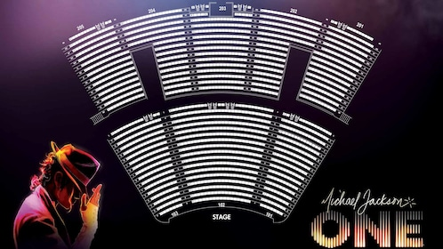 Seating chart for Michael Jackson One, by Cirque du Soleil® in Mandalay Bay