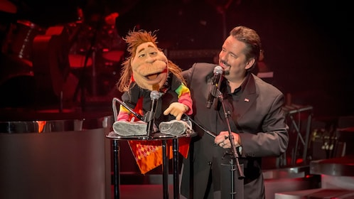 Terry Fator's ventriloquist act at the Mirage Resort and Casino, Las Vegas