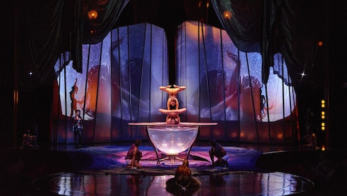 Act during Cirque De Soleil Zumanity