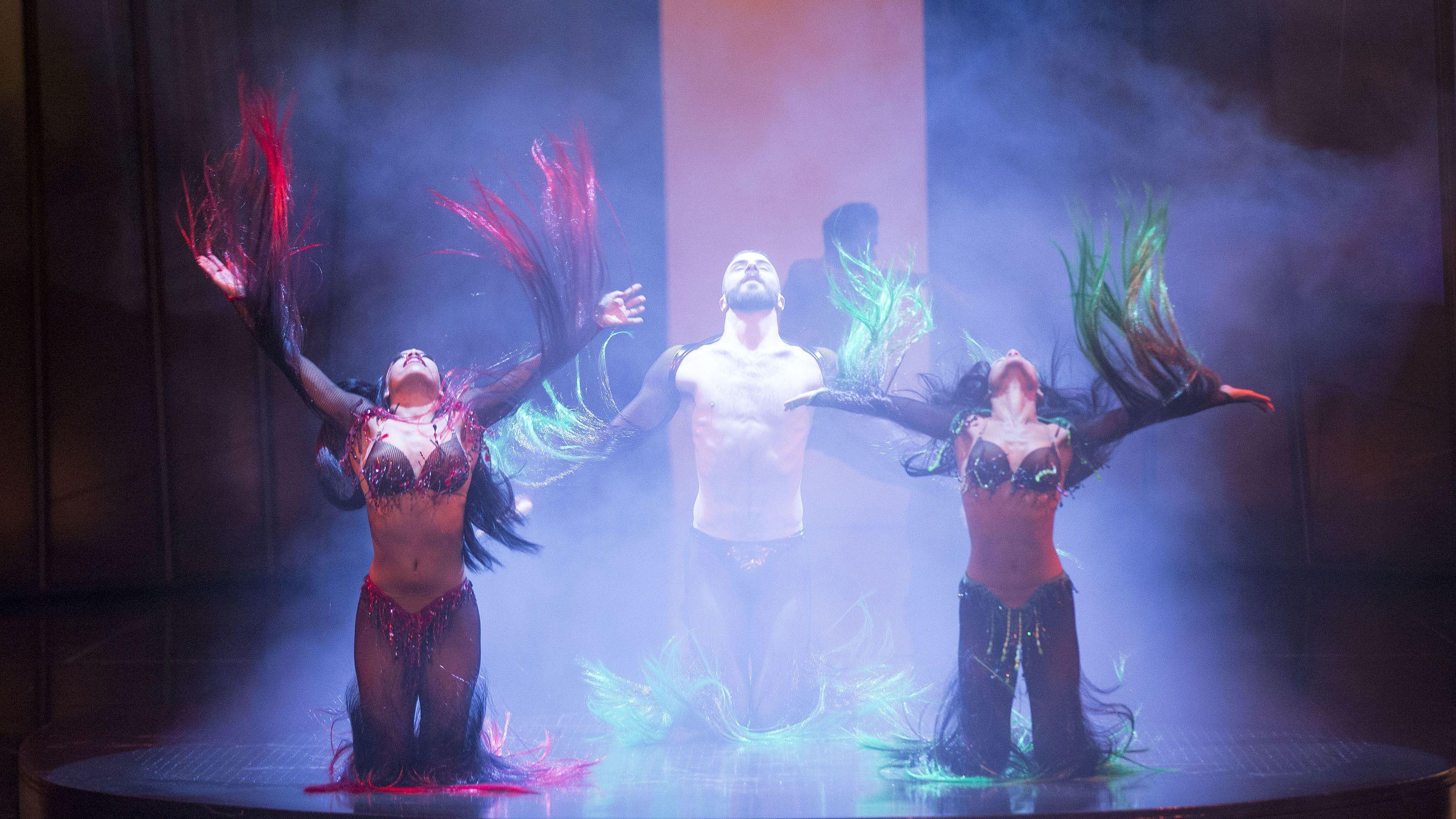 Zumanity performance in Las Vegas
