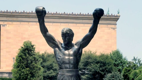 The Rocky Statue of Sylvester Stallone in Philadelphia