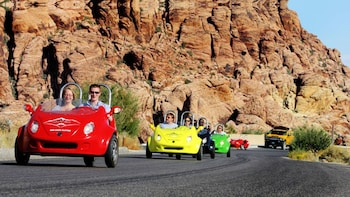 Tur med trehjulet scooterbil i Red Rock Canyon for to personer