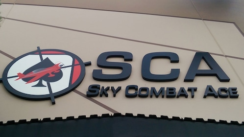 Close view of Sky Combat Ace facility in Las Vegas
