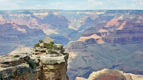 Beautiful landscape view of the Grand Canyon in Las Vegas