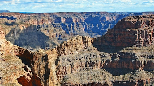 Day time view of the Grand Canyon in Arizona