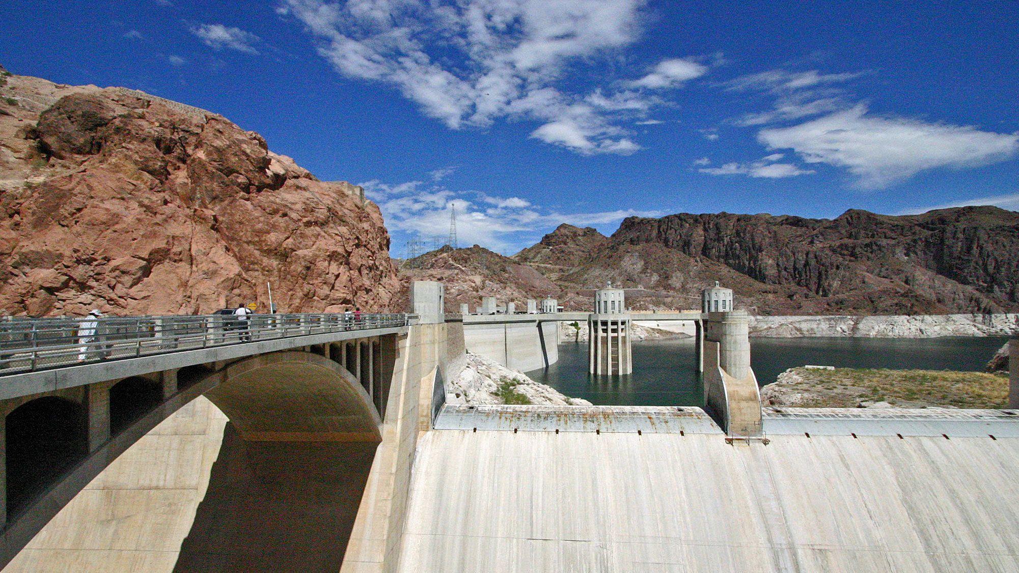 Hoover Dam at daytime