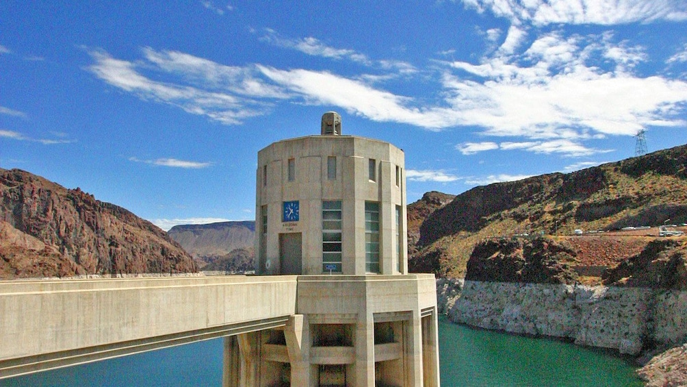 Show item 3 of 5. Hoover Dam at daytime