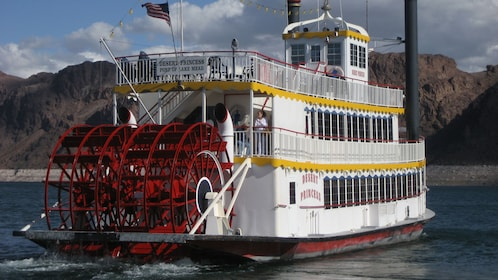 Full image of the Desert Princess paddle-wheeler in Las Vegas