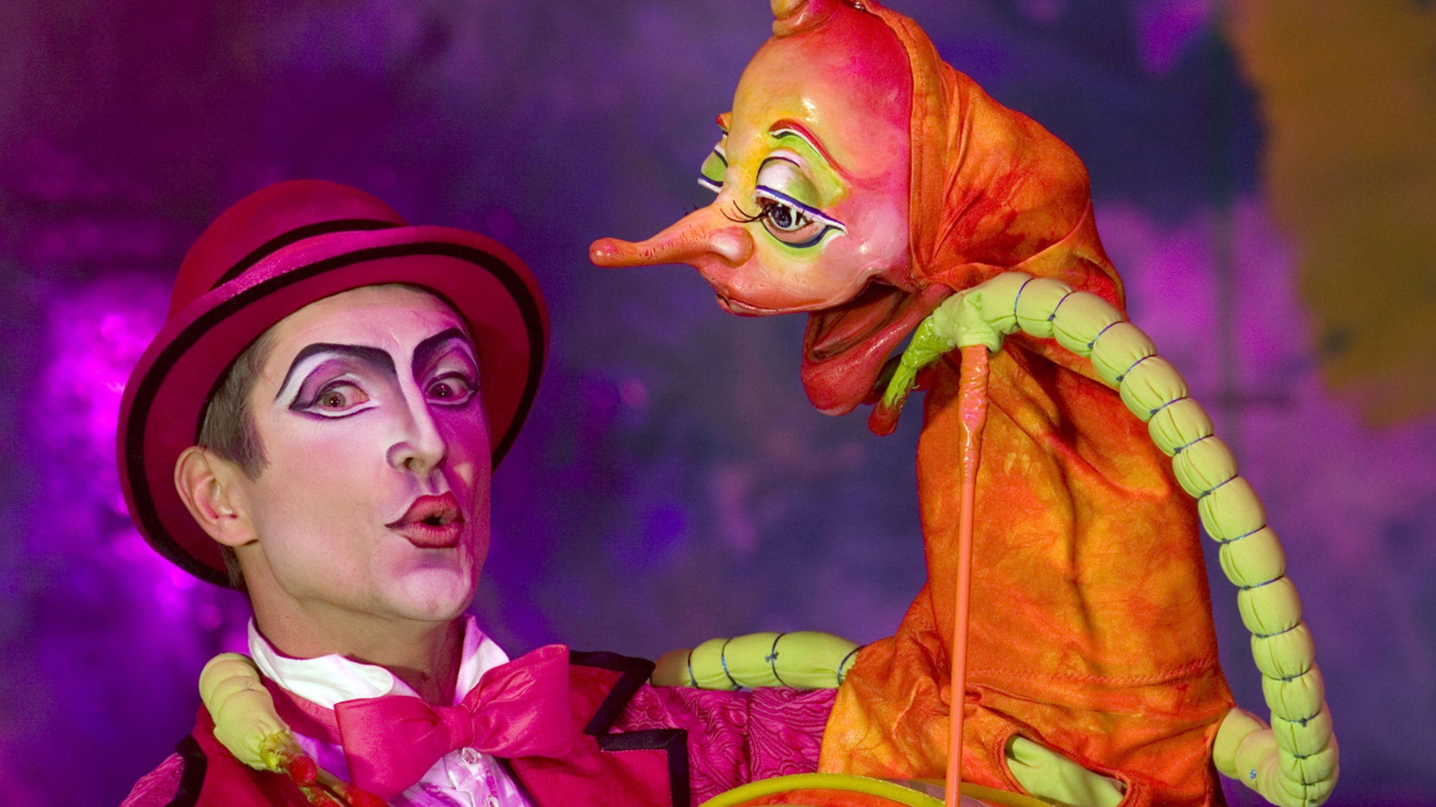 Puppeteer in Cirque De Soleil