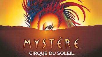 Mystère door Cirque du Soleil op Schateiland