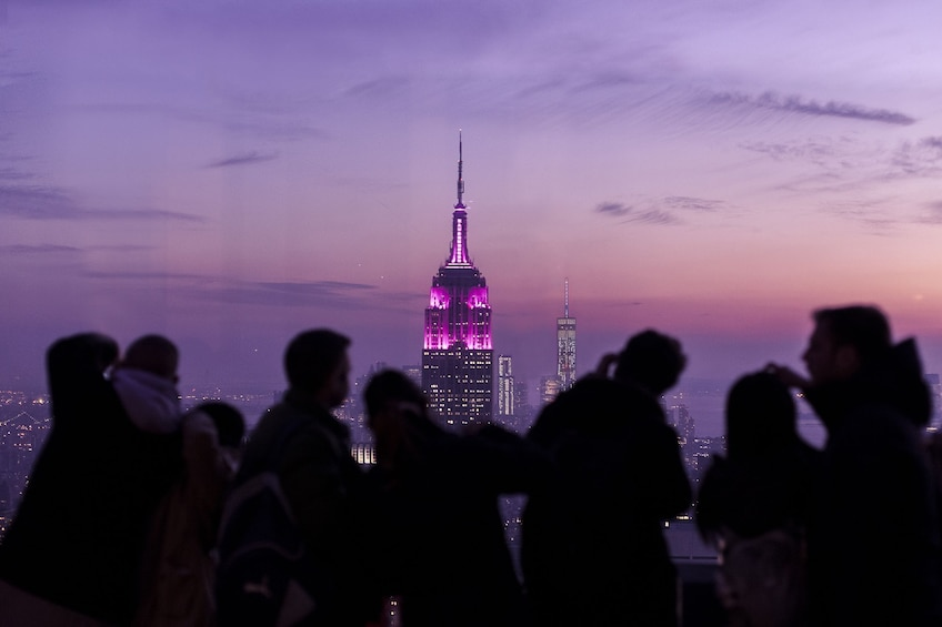 Carregar foto 9 de 9. Top of the Rock Observation Deck: Flexible Date Ticket