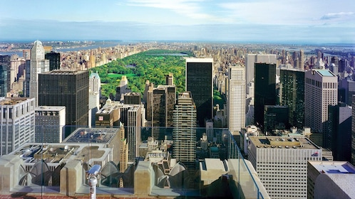 View from of Rockefeller Center in New York