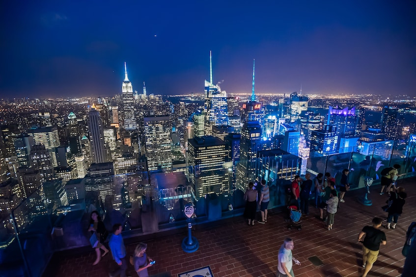 Carregar foto 3 de 9. Top of the Rock Observation Deck: Flexible Date Ticket