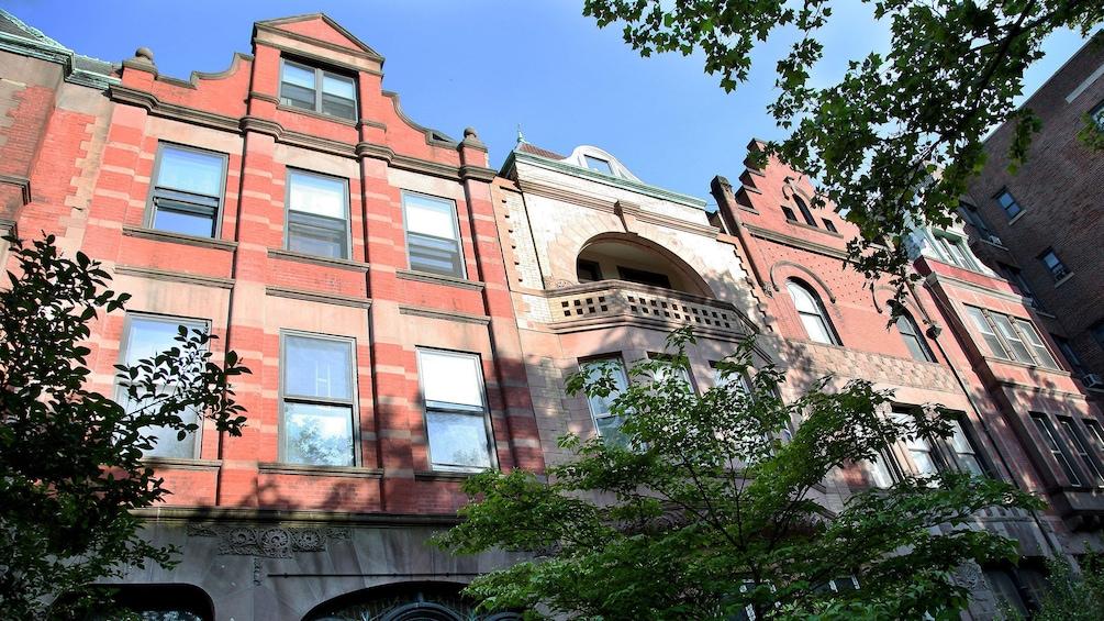 Show item 5 of 6. Harlem buildings in New York