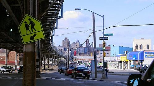 Street in the Bronx in New York