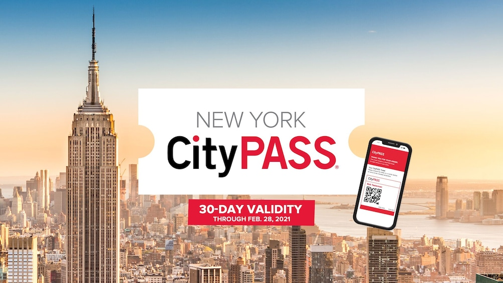Show item 1 of 10. New York CityPASS: Admission to Top 6 New York Attractions