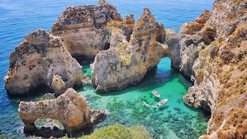 Lagos Boat Trips to Ponta da Piedade Grottoes & Sagres Bay