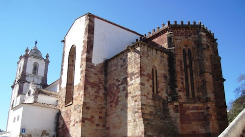 Cathedral of Silves in the city of Silves