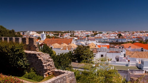Panoramic view of the city of Loule