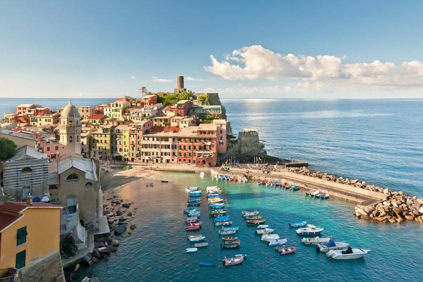 Show item 2 of 8. Cinque Terre Private Tour from Livorno port
