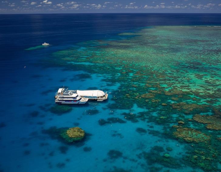 Show item 1 of 8. Great Adventures Green Island & Great Barrier Reef Adventure