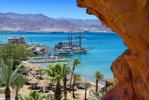 Day of Leisure in Eilat include rich Luxurious Breakfast