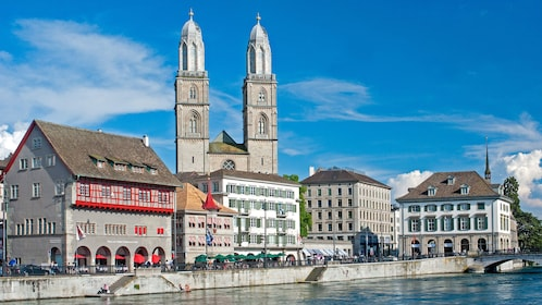 waterfront buildings in zurich