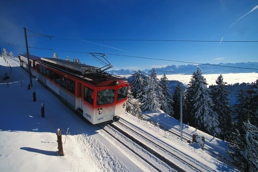 Show item 9 of 9. Mount Rigi & Lucerne Boat Cruise