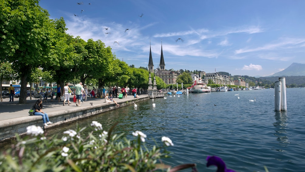 Show item 1 of 8. city view in zurich