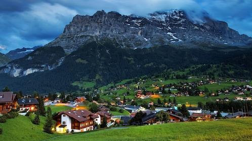 mountain view near zurich