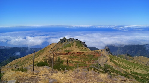 View from a peak in Madeira