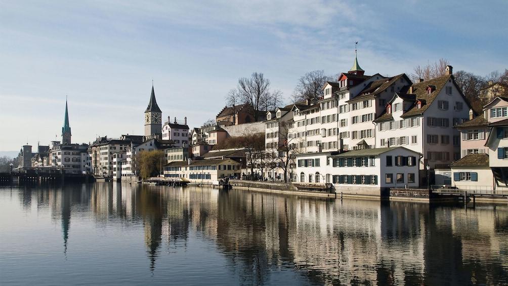 City view of Zurich